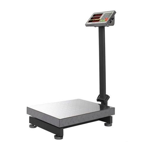 """Весы напольные товарные электронные M-ER 335 ACLP-300.50 """"TURTLE"""" с расчетом стоимости товара LED"""
