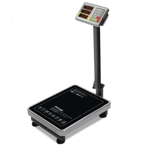 """Весы напольные товарные электронные M-ER 335 ACP-300.50 """"TURTLE"""" с расчетом стоимости товара LED"""