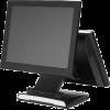 """Дополнительный монитор 15"""" TM для Datavan Glamor, черный, VGA (с кронштейном)"""