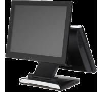 """Дополнительный монитор 15"""" TM для Datavan Glamor, черный, VGA (с кронштейном) сенсорный"""
