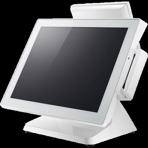 Сенсорный терминал Datavan EL-POS EL-615S (DDR3 4G, SSD 64Гб, Win 10 с MSR) Белый