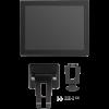 """Дополнительный монитор 15"""" TM для PayTor VIVA POS, черный, VGA (с кронштейном)"""
