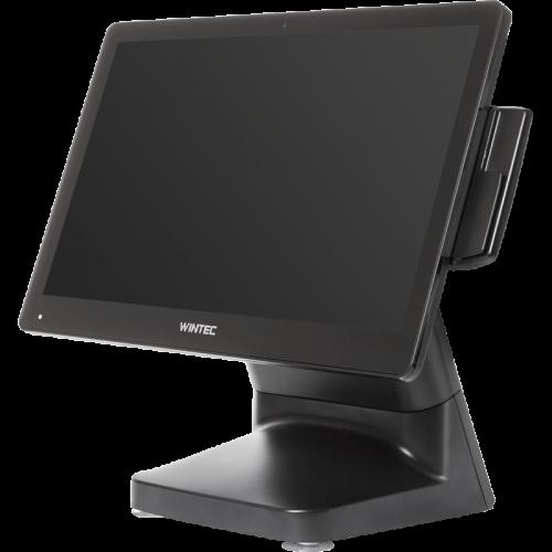 """Сенсорный терминал Wintec Anypos80 15.6"""" (8050A, Intel Celeron J1900, DDR3 4Гб, SSD mSATA 64 Гб, Без ОС с MSR) Черный"""