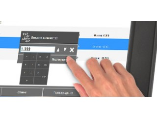 Frontol xPOS совместим с touch screen