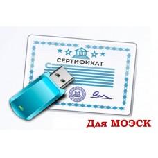 ЭЦП для МОЭСК (Электронная Цифровая Подпись)
