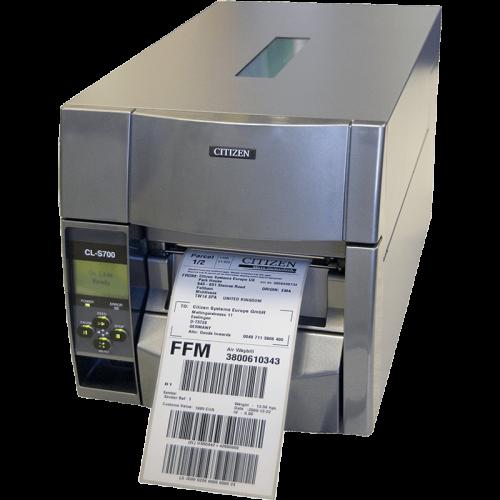 Принтер этикеток Citizen CL-S700DT USB, RS-232, Ethernet