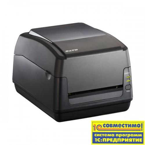 Принтер этикеток SATO WS408TT-STD 203 dpi with Real Time Clock, USB, LAN + RS232C + EU power cable