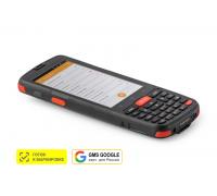 """Терминал сбора данных АТОЛ Smart.Slim Plus полный (4"""", Android 10 с GMS, MT6761D, 3Gb/32Gb, 2D, Wi-Fi, BT, NFC, 4G, GPS, Camera, БП, IP65, 4500 mAh)"""