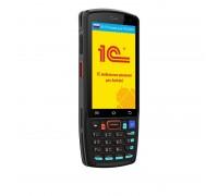 "Urovo DT40/DT40-SU3S9E4010/Android 9.0/1.8 GHz/8хCore, Cortex A53/Qualcomm SD 450/RAM 2 GB/ROM 16 GB/Urovo SE2030/2D Imager/4.0""/480 x 800/2G/4G (LTE)/Bluetooth/GPS/GSM/Wi-Fi/4500mah/NFC/IP 67/240 g/24 клавиши"