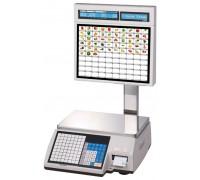 Весы с печатью этикеток CAS CL5000J-15IS