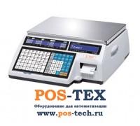 Весы с печатью этикеток CAS CL5000J-IB (Ethernet)