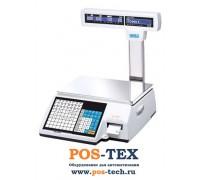 Весы с печатью этикеток CAS CL5000J-IP (Ethernet)